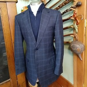 Canali Houndstooth Windowpane Sport Coat